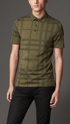 Burberry London Check Cotton Polo Shirt