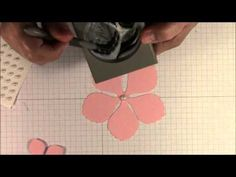 ▶ Quick and Easy Flowers Using the Blossom Petals Builder Punch - YouTube