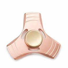 VICTOREM EDC Hand Spinner Metal Fidget ADHD Focus Toy Ultra Durable Brass Made High Speed - Up to 5 Minutes