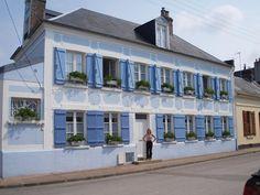 La Maison Bleue en Baie, chambres d'hôtes de charme au Crotoy en Baie de Somme (Picardie, France)