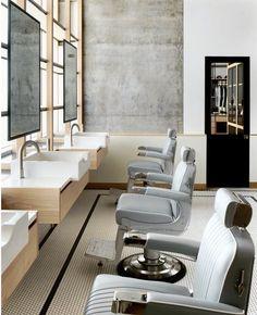 Hairdressing Modern Barber Shop, Barber Shop Interior, Hair Salon Interior,  Barber Shop Decor