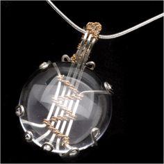 Tutorial - How to: Wire Wrapped Soumak Glass Pendant by Wyatt White | Beadaholique