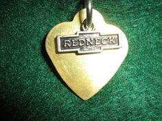 Redneck Love Pendant by BulletsAntlersEtc on Etsy, $15.00