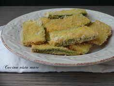 Le zucchine impanate al forno sono un antipasto delizioso o un contorno leggero, croccanti e sfiziose piacciono anche ai bambini!