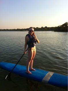 Pancakes and Beet Juice: What's SUP, Dallas - Stand Up Paddleboarding on White Rock Lake and Bicycle Cafe