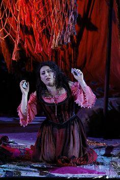 www.arena.it Arena di Verona, Carmen (Anita Rachvelishvili) by Georges Bizet.   2010, Atto III