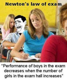 Newton Law Of Exams