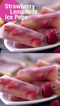 Fun Baking Recipes, Healthy Sweets, Healthy Dessert Recipes, Homemade Popsicles Healthy, Healthy Snacks, Cooking Recipes, Fruit Smoothie Recipes, Smoothies, Summer Snacks