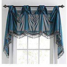 Window treatment... But in Ebony... Not blue!
