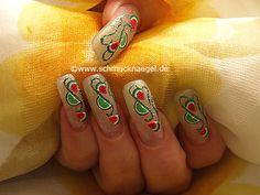 Frutas de fimo para decorar las uñas - Nail art motivo 144 http://www.schmucknaegel.de/