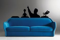 The ultimate movie room decal