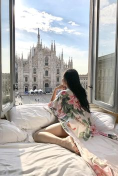 Best Hotel Room View in Milan | Of Leather and Lace
