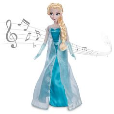 Disney Frozen Elsa Singing Doll - 2013 #CyberMonday  Holiday Gift Guide: How to Get 25% off All Things #DisneyFrozen #DisneyFrozenEvent