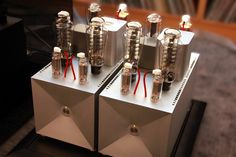 Thrax Audio amplifiers