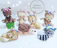 1 million+ Stunning Free Images to Use Anywhere Cute Polymer Clay, Cute Clay, Polymer Clay Crafts, Woodland Cake, Rabbit Cake, Fondant Animals, Quilled Paper Art, Fondant Toppers, Fondant Tutorial