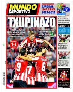 Prensa deportiva del 18 de Agosto 2013