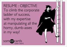 133 - Resume Objective