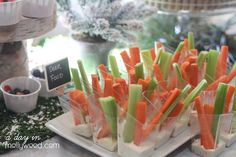 Sawyer's Enchanted Winter Woodland First Birthday Party | CatchMyParty.com