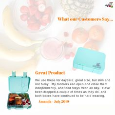 💌 Some Love for our Aurora (Mint Green) Leakproof Bento Lunchbox 🥰 ❤️ 😍 💌
