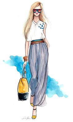 Inslee Haynes fashion illustrator