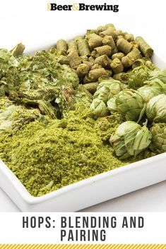 There is value in pairing, blending, and mixing hops to increase the odds of getting what you want out of your recipes and beers. beer at home homebrew recipes Brewing Recipes, Homebrew Recipes, Beer Recipes, Coffee Recipes, Make Beer At Home, How To Make Beer, How To Brew Beer, Home Brewery, Home Brewing Beer