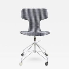 Arne Jacobsen - AJ 3103 - New Upholstered Chair Arne Jacobsen, Scandinavian Modern, Danish Modern, Plywood Furniture, Herman Miller, Fritz Hansen, Eames, Swan Chair, Stylish Chairs