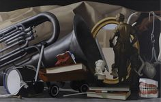Natee UTARIT, Country, 2011, Oil on Linen, 360x240cm. Private Collection.