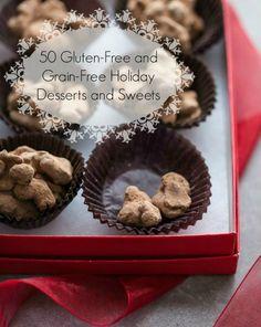 50 Gluten-Free and Grain-Free Holiday Desserts on gourmandeinthekitchen.com