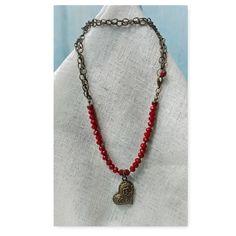 Collar Mariska Bijoux / Cadena y Muranos /Necklace Urban Beauty, Beaded Necklace, Pendant Necklace, Color, Jewelry, Casual, Fashion, Stud Earrings, Bangle Bracelets