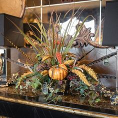 This special time of the year marks the beginning of the fall season for Linly Designs. We are looking forward to sharing all of our fall décors with you! Home Decor Floral Arrangements, Fall Arrangements, Fall Home Decor, Autumn Home, Holiday Decor, Autumn Decorating, Tuscan Decorating, Elegant Fall Decor, Apple Kitchen Decor