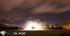 Steel wool was used in creation of this shot