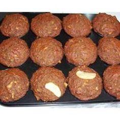 Vegan Apple Carrot Muffins