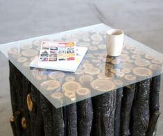 Log Table- would be cool with birch instead