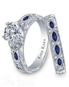 I want my husband's birthstone incorporated into my ring.. Maybe just the band lol