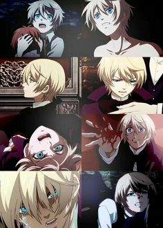 Black butler / kuroshitsuji. I must admit, I didn't like Alois at first, but then i took the time to get to know him