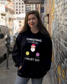 Christmas is Calling I Must Go