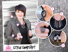 { Style Snapshot } Gunmetal is one of our favorite finishes. Its ability to take on gritty, industrial designs or more sleek, elegant features makes it incredible versatile. Even better, if you're one of those people who feel safest wearing all silver accessories, adding gunmetal to your ensemble is a great way to break out of your comfort zone!
