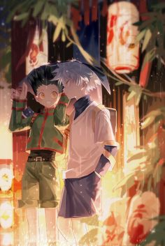 Anime: Hunter x Hunter Otaku Anime, Bts Anime, Anime Guys, Manga Anime, Hunter X Hunter, Hunter Anime, City Hunter, Killua, Hisoka