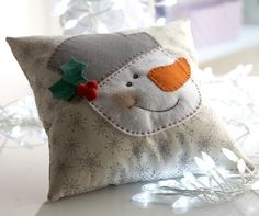 Snowman Applique - U