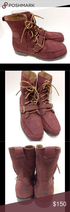 NWOB Polo Ralph Lauren Suede RANGER Boots 14D NWOB Polo Ralph Lauren Reddish Brown Suede RANGER Boots 14D. no Box Polo by Ralph Lauren Shoes Boots