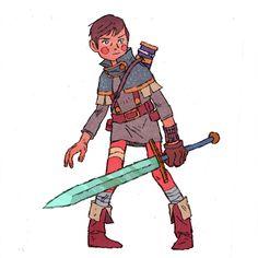 Jake Wyatt - Character Design Page