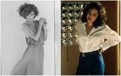 15 great actors who portrayed real-life personalities perfectly - Channels for DIY Gia Carangi, Angelina Jolie, Fascinator, Real Life, Personality, Ruffle Blouse, Actors, Popular, People
