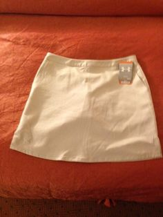 Mouse over image to zoom    Have one to sell? Sell it yourself  NEW WOMENS UNDER ARMOUR GOLF SKIRT SKORT SHORTS, NWT, SIZE: 8 Medium $24.99