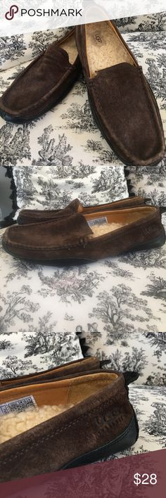 UGG men's suede shoes size 11 loafers Nice shape. See photos. UGG Shoes Loafers & Slip-Ons