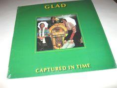 Glad  - Captured In Time , Lp mint still sealed