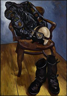 Painting by Paul Simonon of The Clash #design | caferacerpasion.com