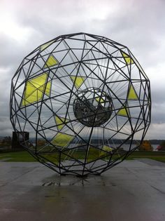 Olafur Eliasson. New work under construction in Oslo. Opening in 2013.