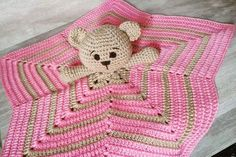New Knitting Patterns Free Blanket Snuggles Ideas Crochet Dragon Pattern, Bunny Crochet, Crochet Lovey, Manta Crochet, Baby Blanket Crochet, Crochet Dolls, Free Crochet, Crochet Security Blanket, Lovey Blanket