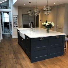 4 Tips For Kitchen Remodeling In Your Home Renovation Project – Home Dcorz Wood Kitchen Island, Barn Kitchen, Wood Floor Kitchen, Custom Kitchen Cabinets, Kitchen Layout, Home Decor Kitchen, Kitchen Flooring, Rustic Kitchen, Home Kitchens