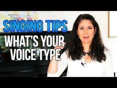 Freya\'s Singing Tips: What\'s Your Voice Type?